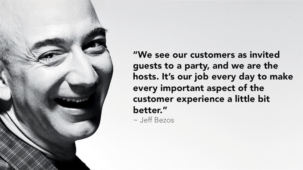 Jeff Bezos med citat